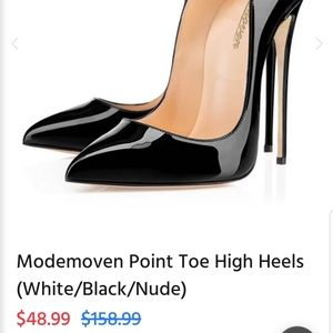 Modemoven Shoes - Modemoven 5in Patent Leather Pumps